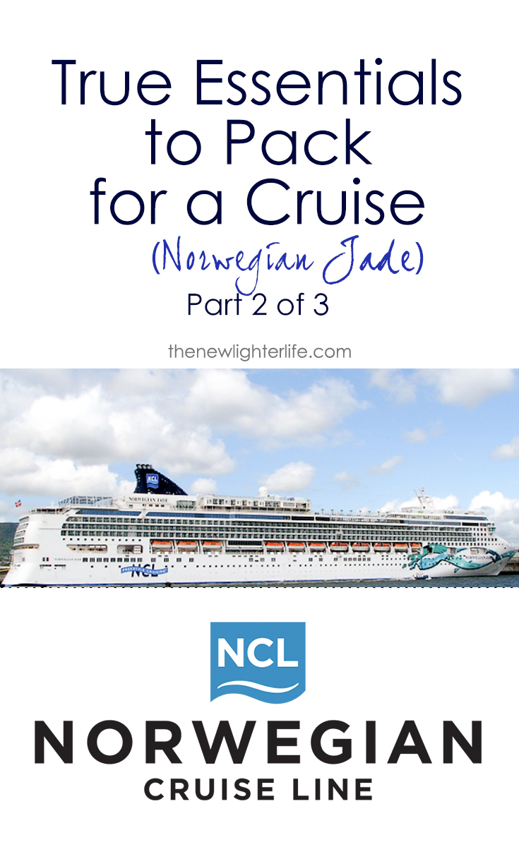 Essentials to pack for a norwegian cruise