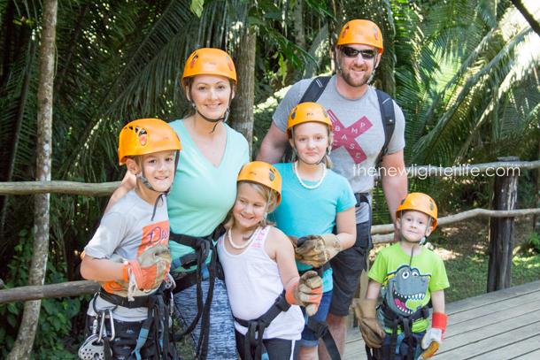 Ziplining-Belize