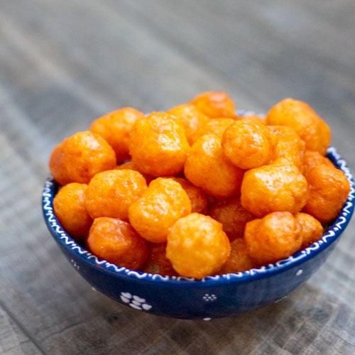 Caramel Cheese Puffs Recipe