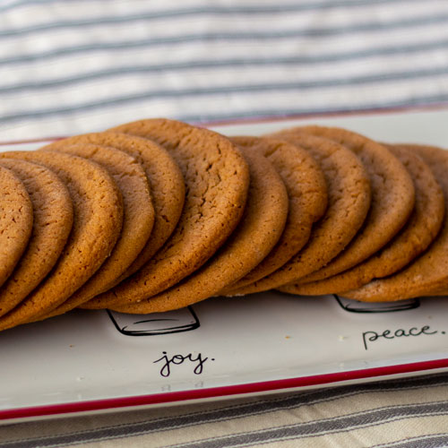 Soft and Chewy Spiced Molasses Cookie Recipes